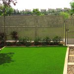 Complete vision of garden