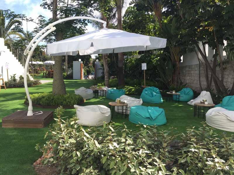 jardines hoteles