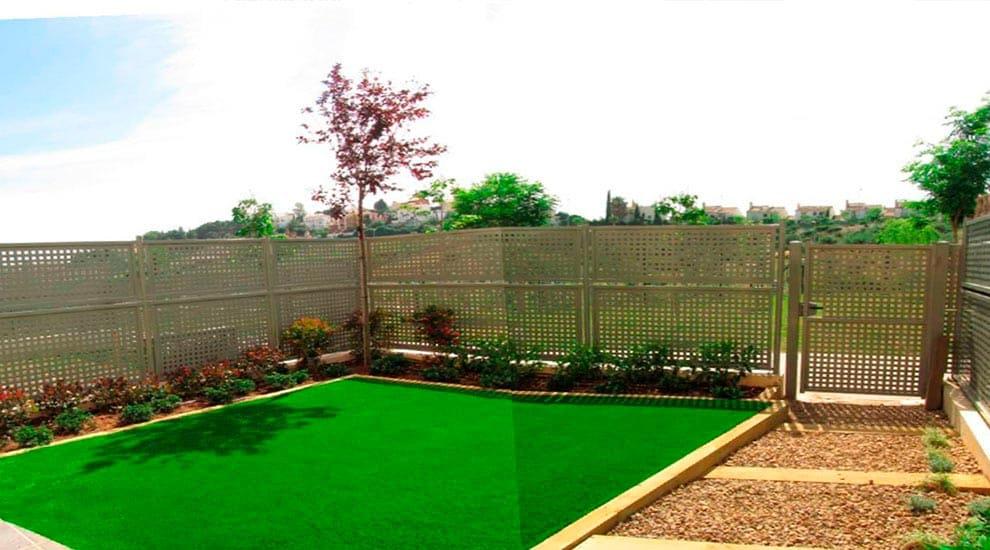Full view of the garden