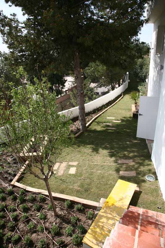 Site garden Villa Nan