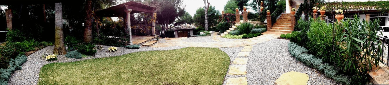 acceso jardin - Villa Palmeras