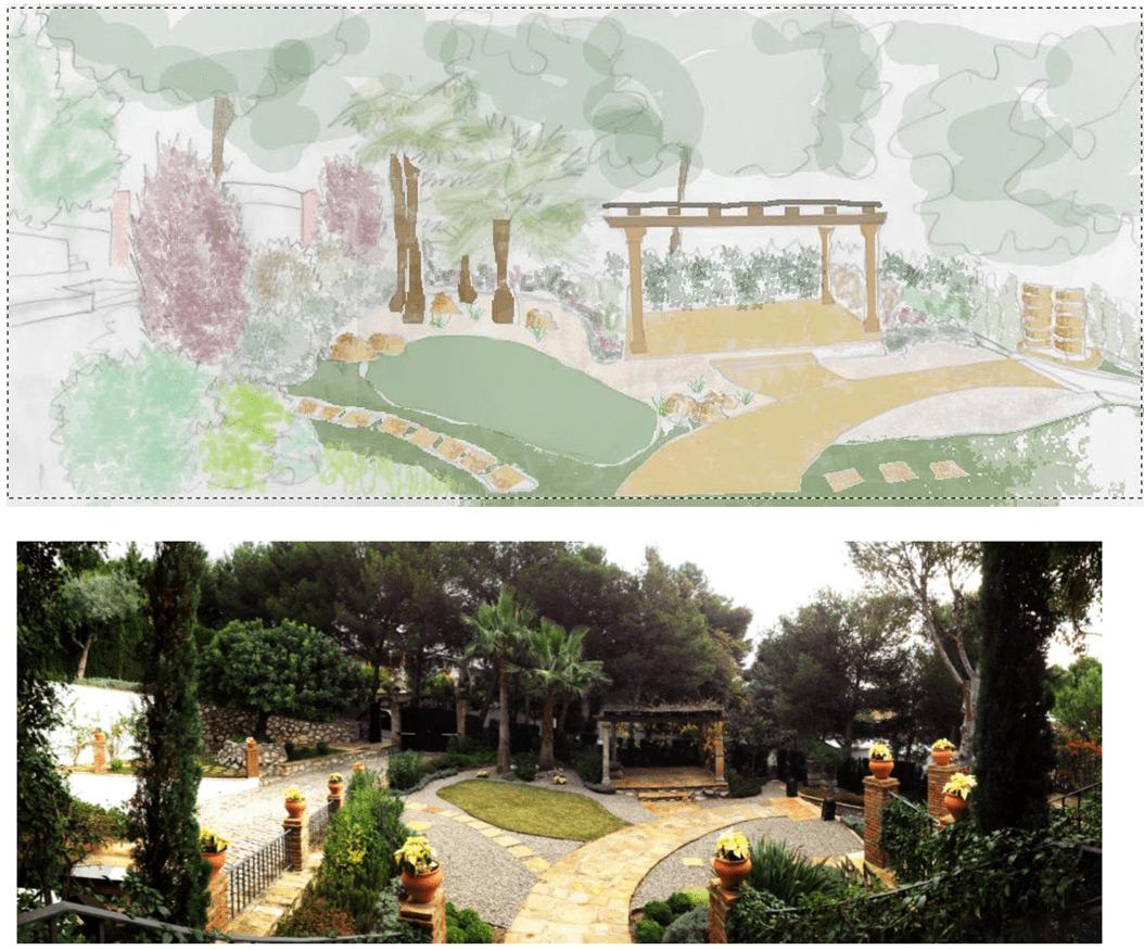 Antes y después Villa bol Naipe