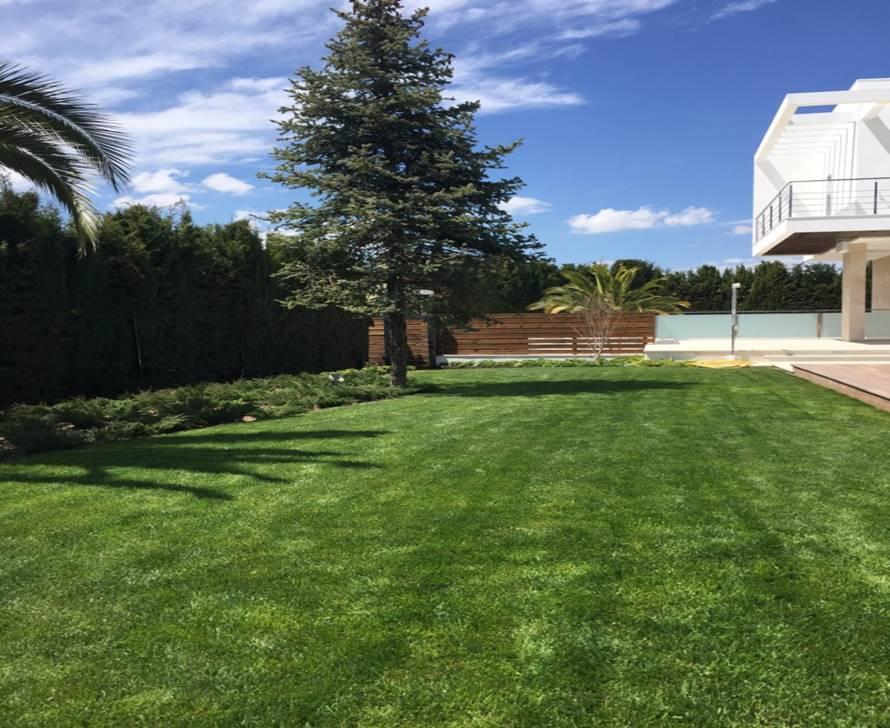 detalle pradera principal - Villa Rey