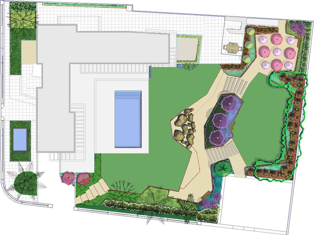 Plano Villa Rey.
